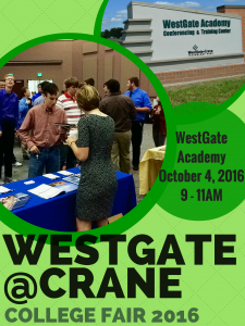 WestGate@Crane College Fair 2016