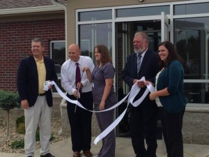 health clinic ribbon cutting